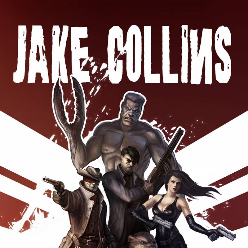 /Jake Collins - comic book cover