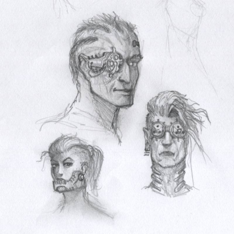 /sketches - heads